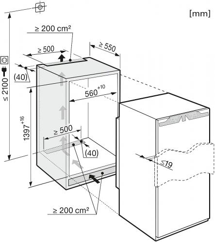 Congelatoare Congelator incorporat FNS 35402 i