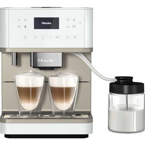 Espressoare de sine stătătoare Espressor cu boabe,alb,CM 6360 MilkPerfection LOCM