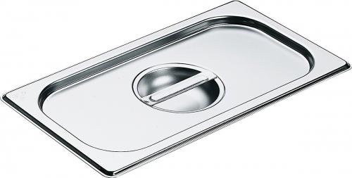 Accesorii pentru copt şi gătit cu aburi Capac din oţel inoxidabil cu mâner GN 1/3