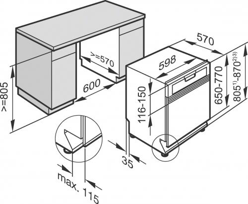 Maşini de spălat vase încorporate Masina de spalat vase G 4203 SCi Active EDST,inox