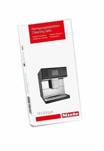 Produse pentru întreţinerea electrocasnicelor Tablete de curățare unitate infuzie espresoare
