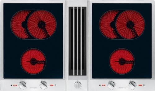 Element CombiSet cu hota la nivelul blatului Plita electrica cu hota CSDA 1040 CombiSet