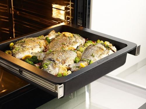 Accesorii pentru copt şi gătit cu aburi Caserolă gourmet pentru inducţie HUB 5001 XL