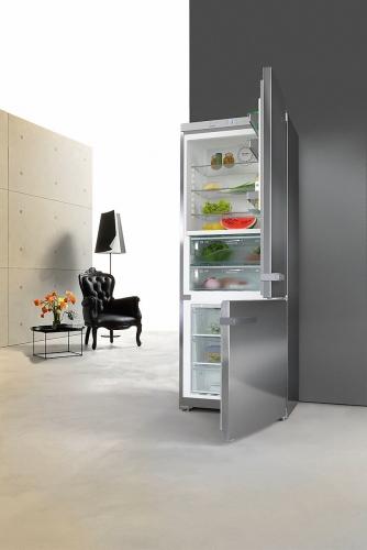 Frigidere Combina frigorifica,inox,KFN 16947 D ed/cs,75cm