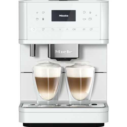 Espressoare de sine stătătoare Espressor cu boabe,alb,CM 6160 MilkPerfection