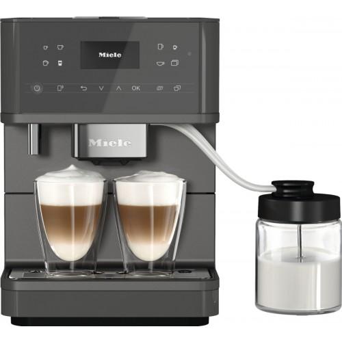 Espressoare de sine stătătoare Espressor cu boabe,gri,CM 6560 MilkPerfection